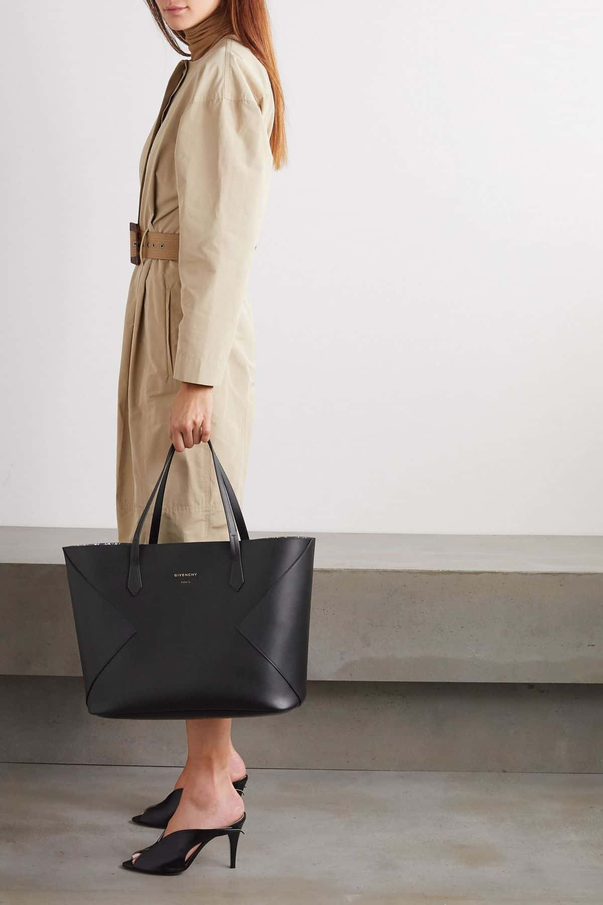 Givenchy Black Wing Shopping Tote