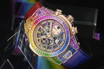 Hublot Big Bang Unico Full Baguette King Gold Rainbow 1