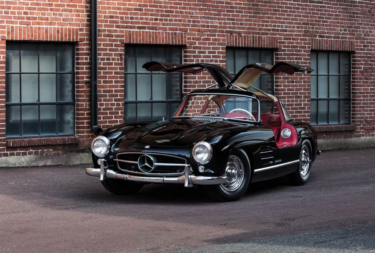 Mercedes-Benz 300 SL Gull-Wing Coupe