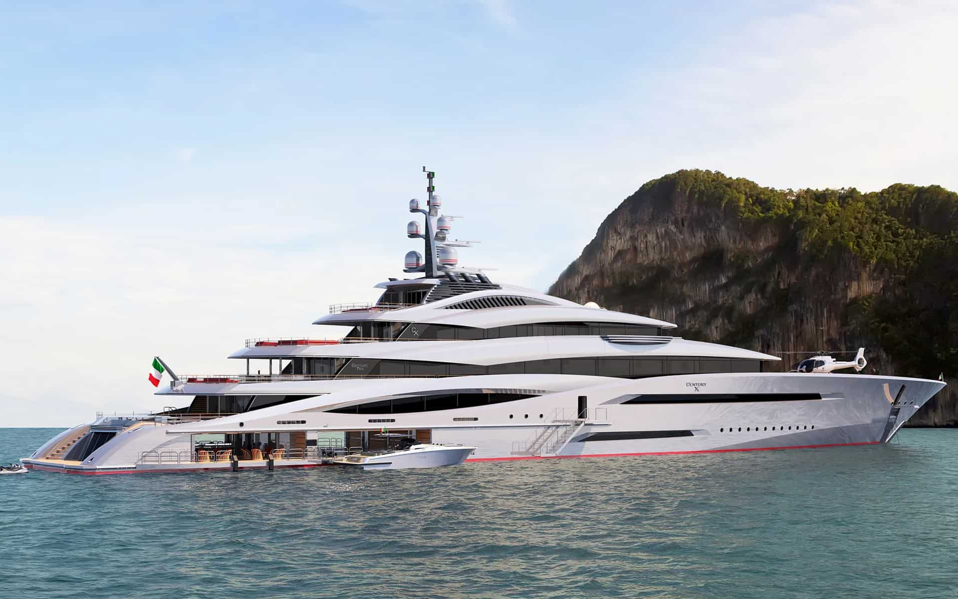 Project Century X Superyacht Comes Back From The Future