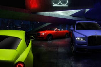 Rolls-Royce Neon Nights Collection 1