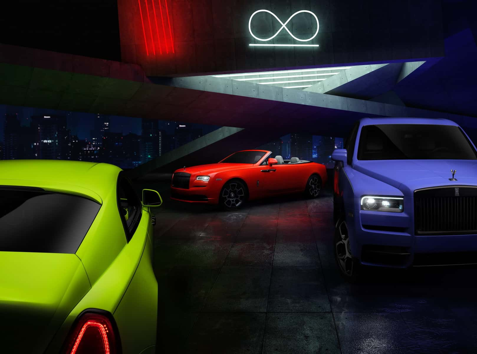 Rolls-Royce 'Neon Nights' Collection Is As Exotic As They Come