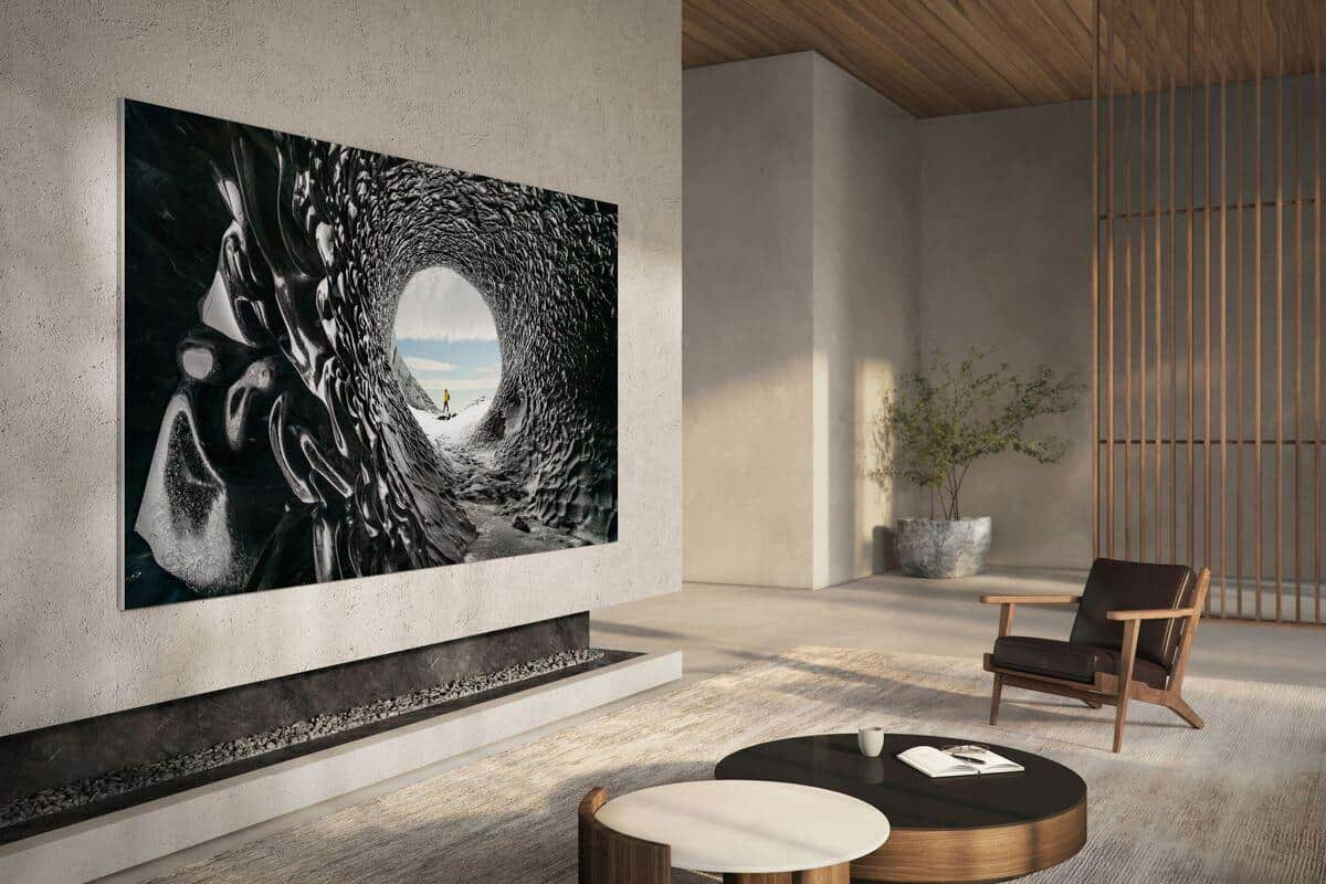 Samsung MicroLED 110-inch 4K TV 1