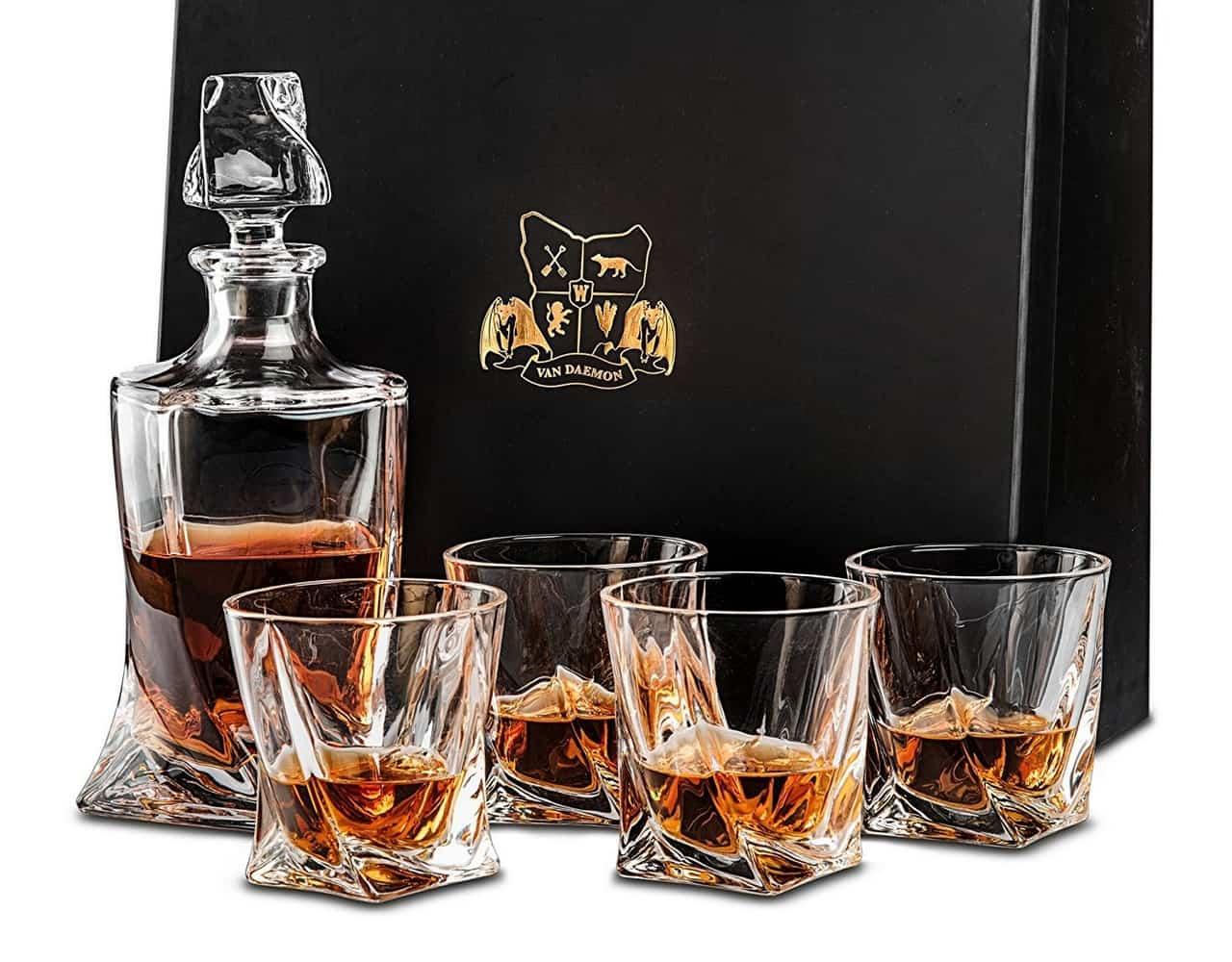 Van Daemon Twist Whisky Glasses