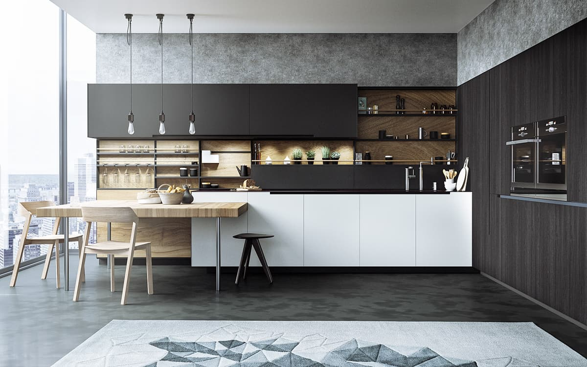 cool modular kitchen design