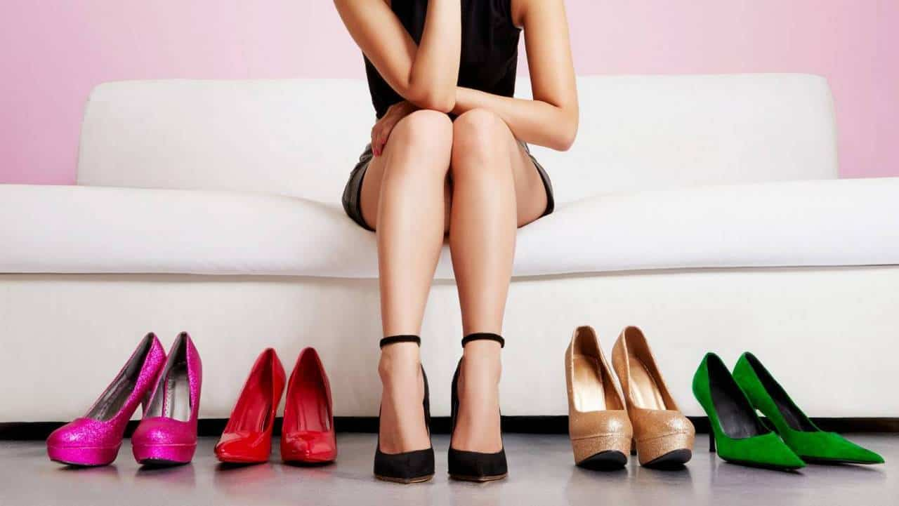 picking the most comfortable heels