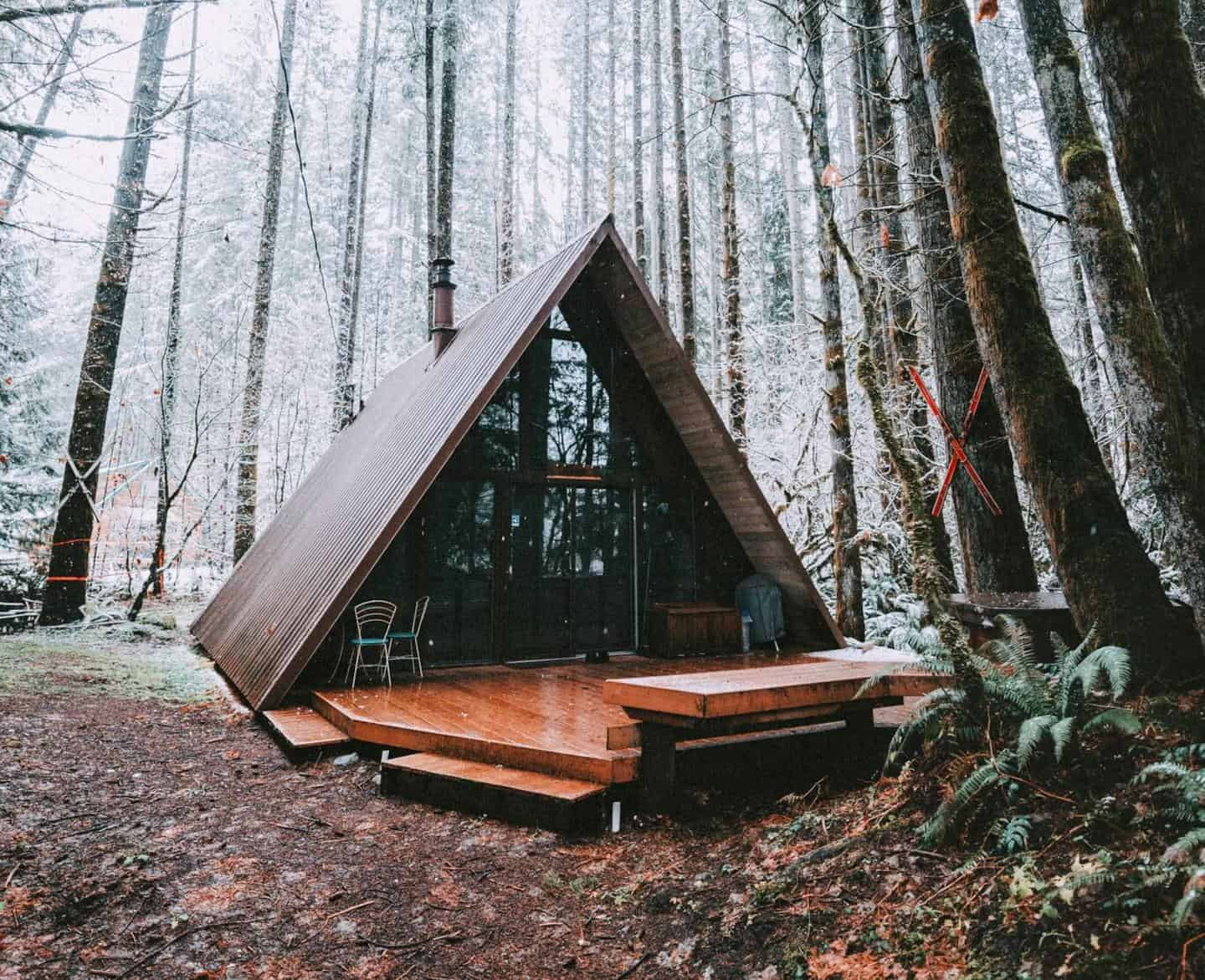A-Frame Cabins You can Actually Rent