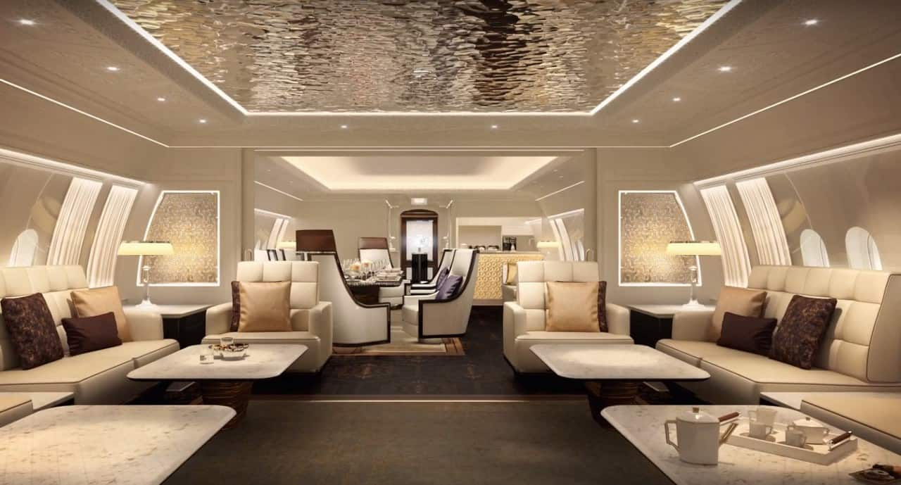 Boeing Business Jet 777X Interior
