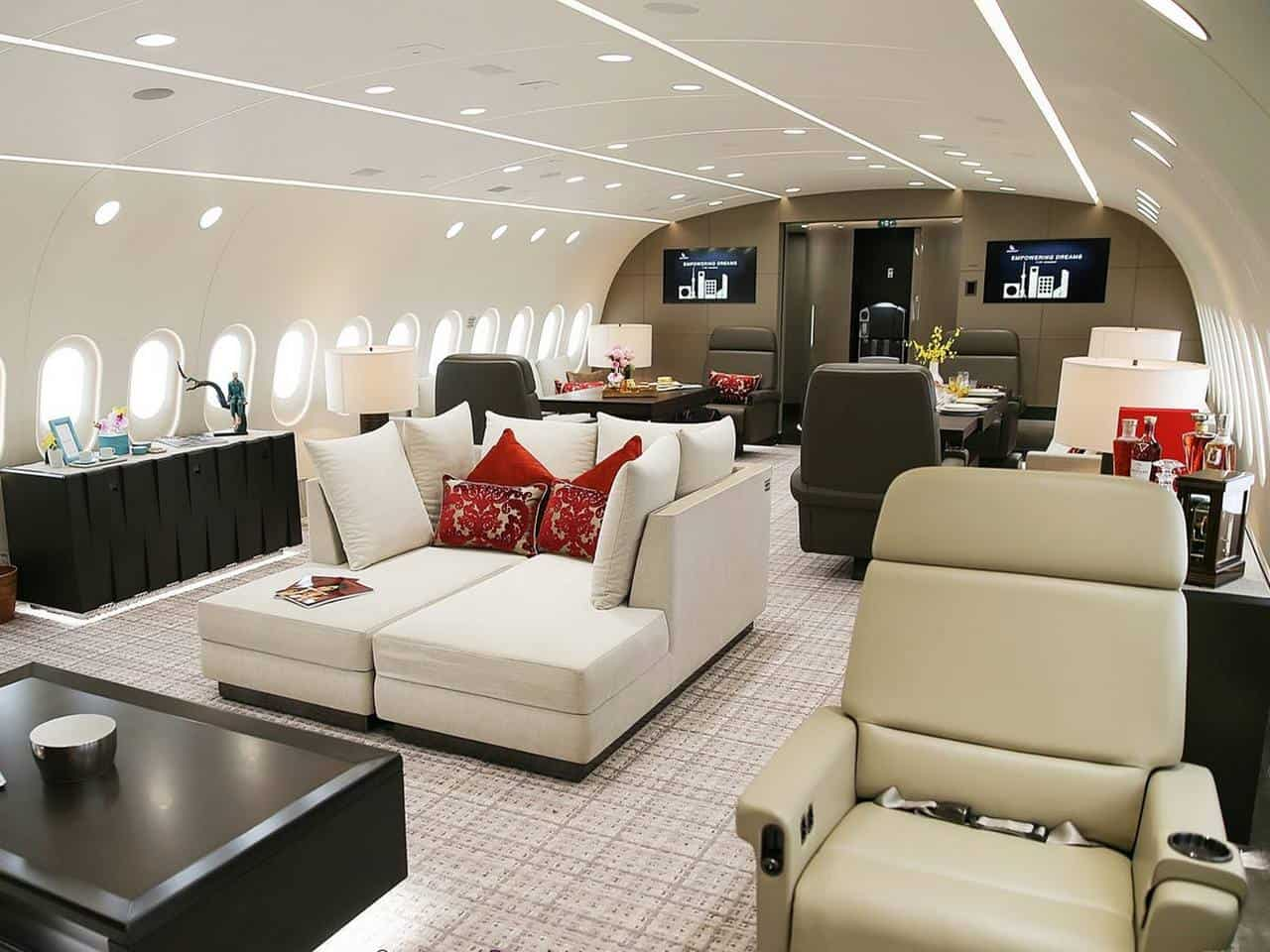 Boeing Business Jet 787 Interior