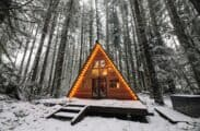 Breathtaking A-Frame Cabins