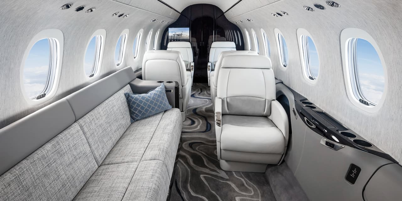 Cessna Citation Longitude Interior
