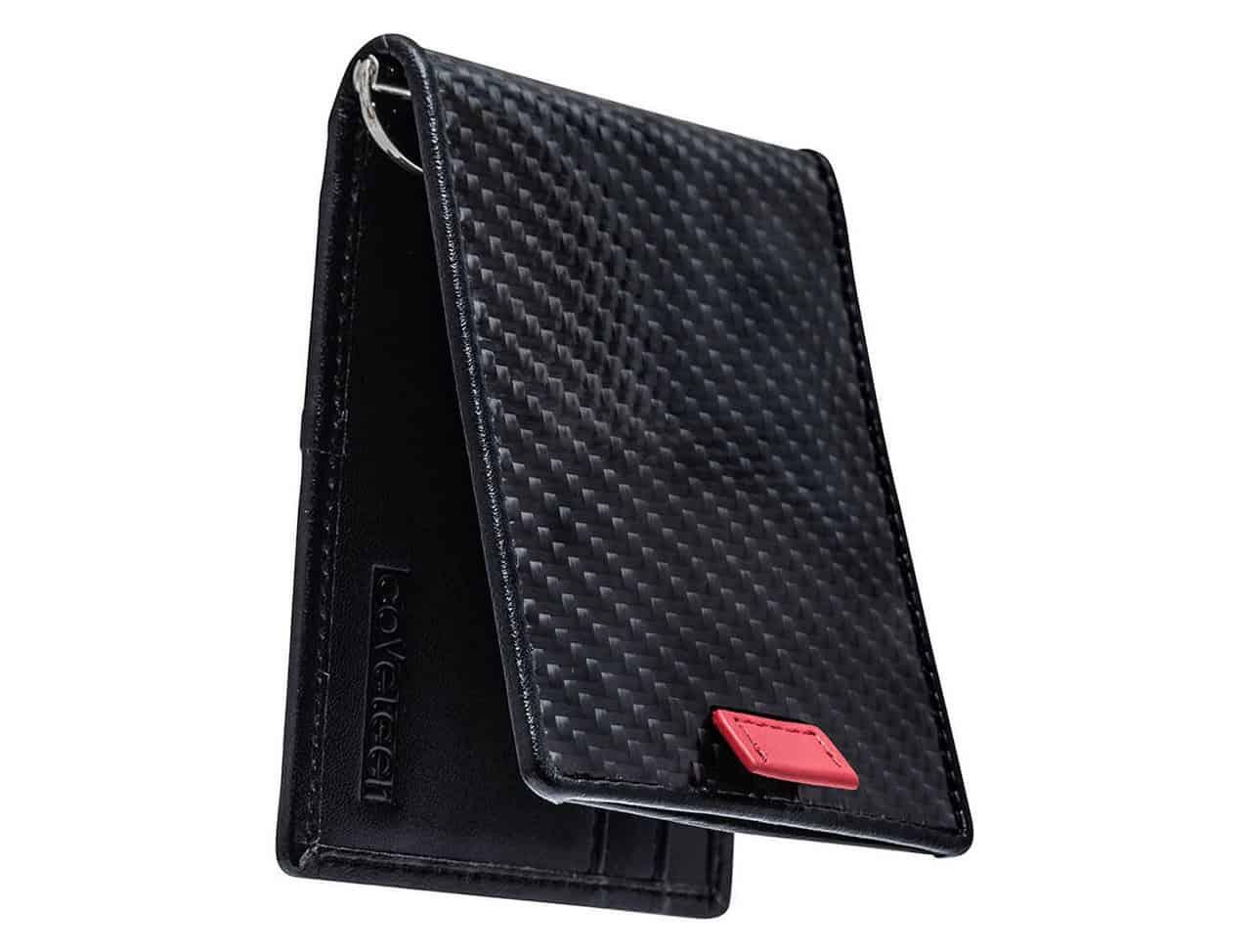 Coveteer Premium Carbon Fiber Bi-Fold Wallet
