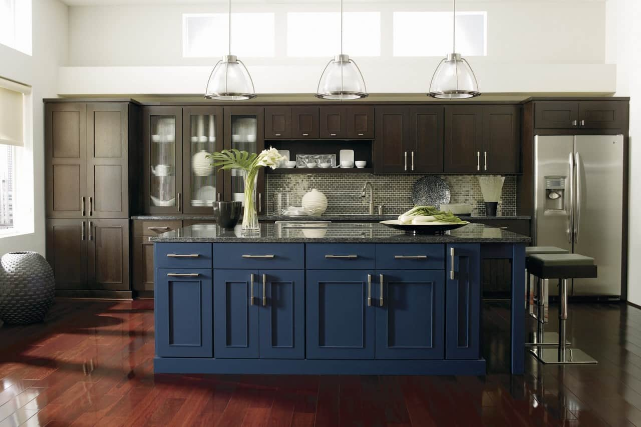 Dark Blue Kitchens