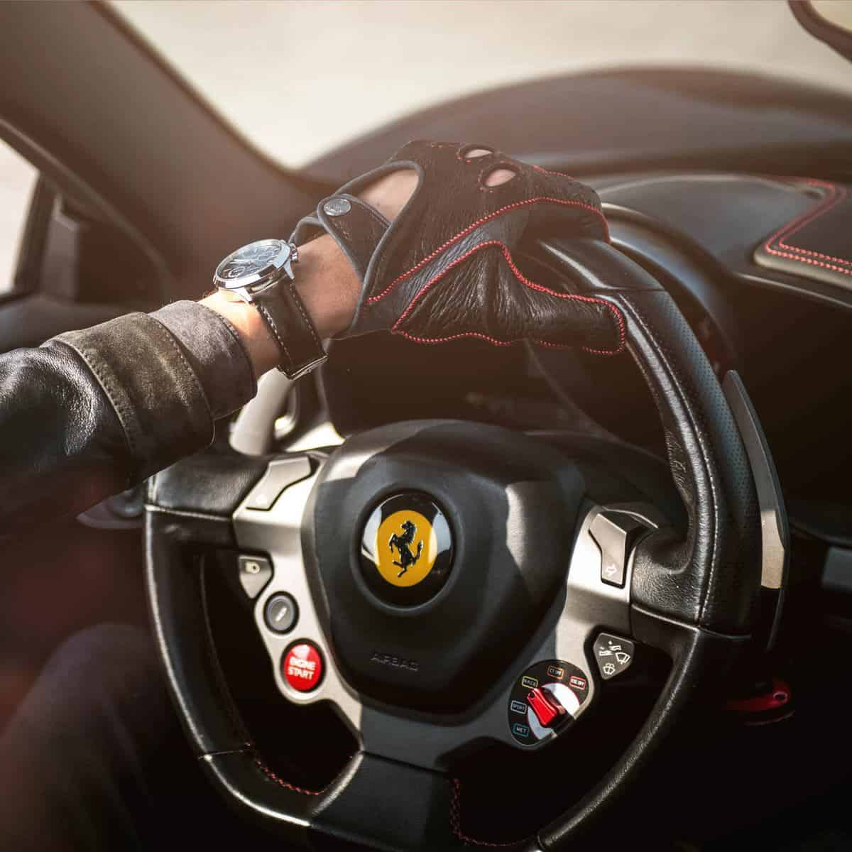 Ferrari – Men's Driving Gloves