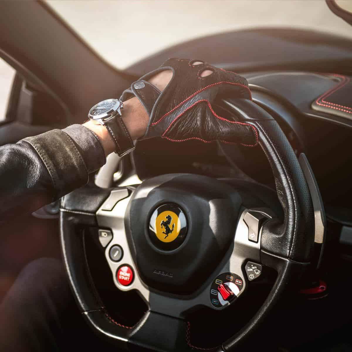 Ferrari – Men's Driving Gloves