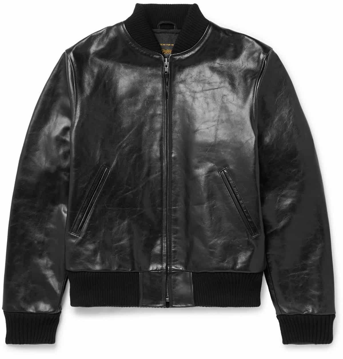 Golden Bear Ashbury Leather Jacket