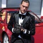 Harssidanzar Men's Deerskin Leather Driving Gloves
