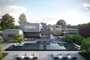 Luxury House exterior