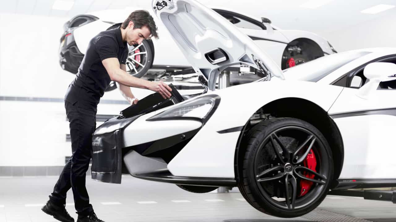 McLaren Sservice