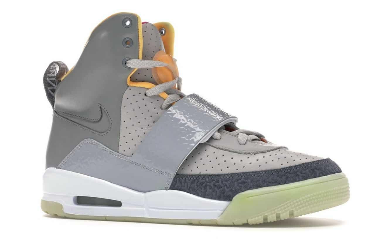Nike Air Yeezy 1-36614 002 Zen Grey Light Charcoal