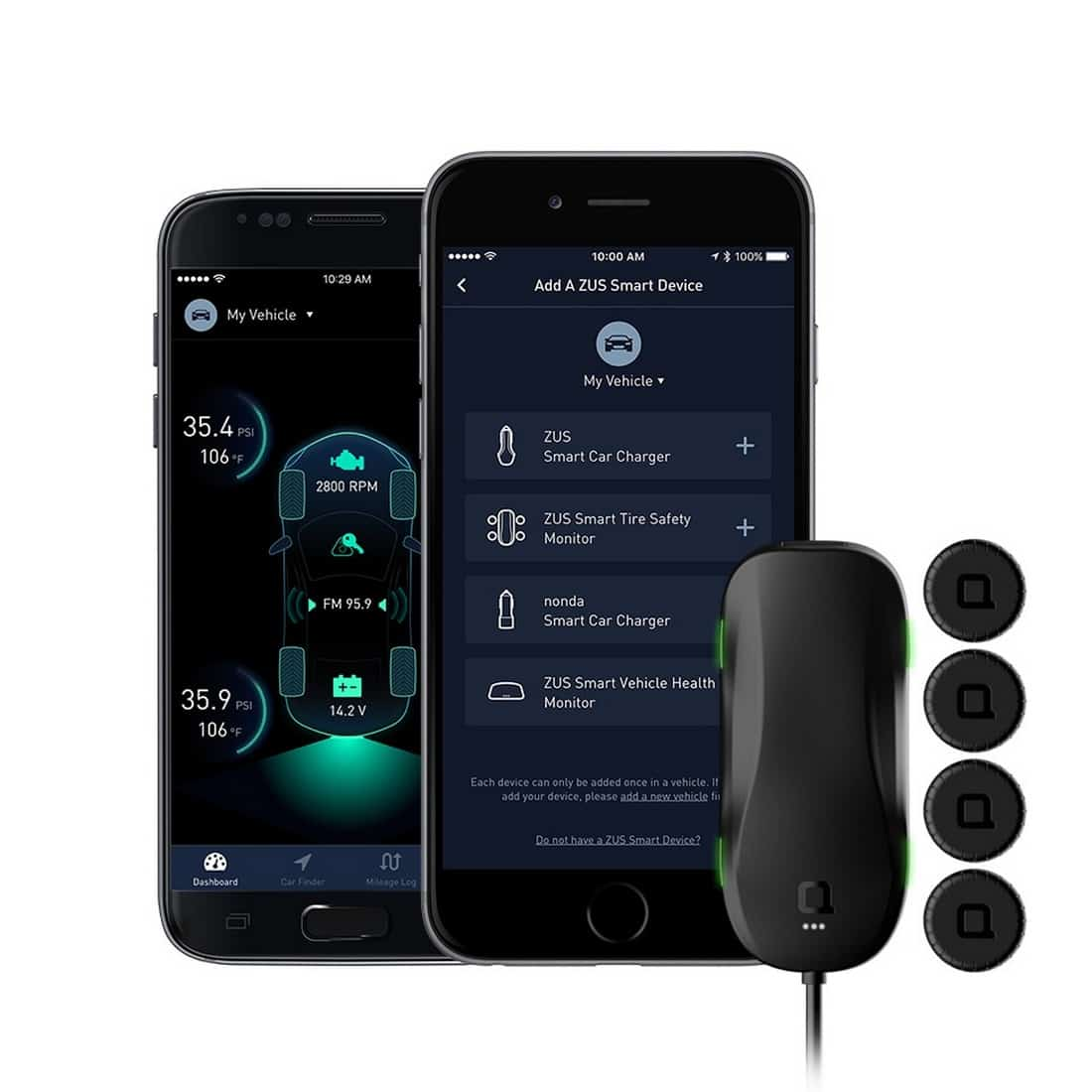 Nonda ZUS Smart Tire Safety Monitor