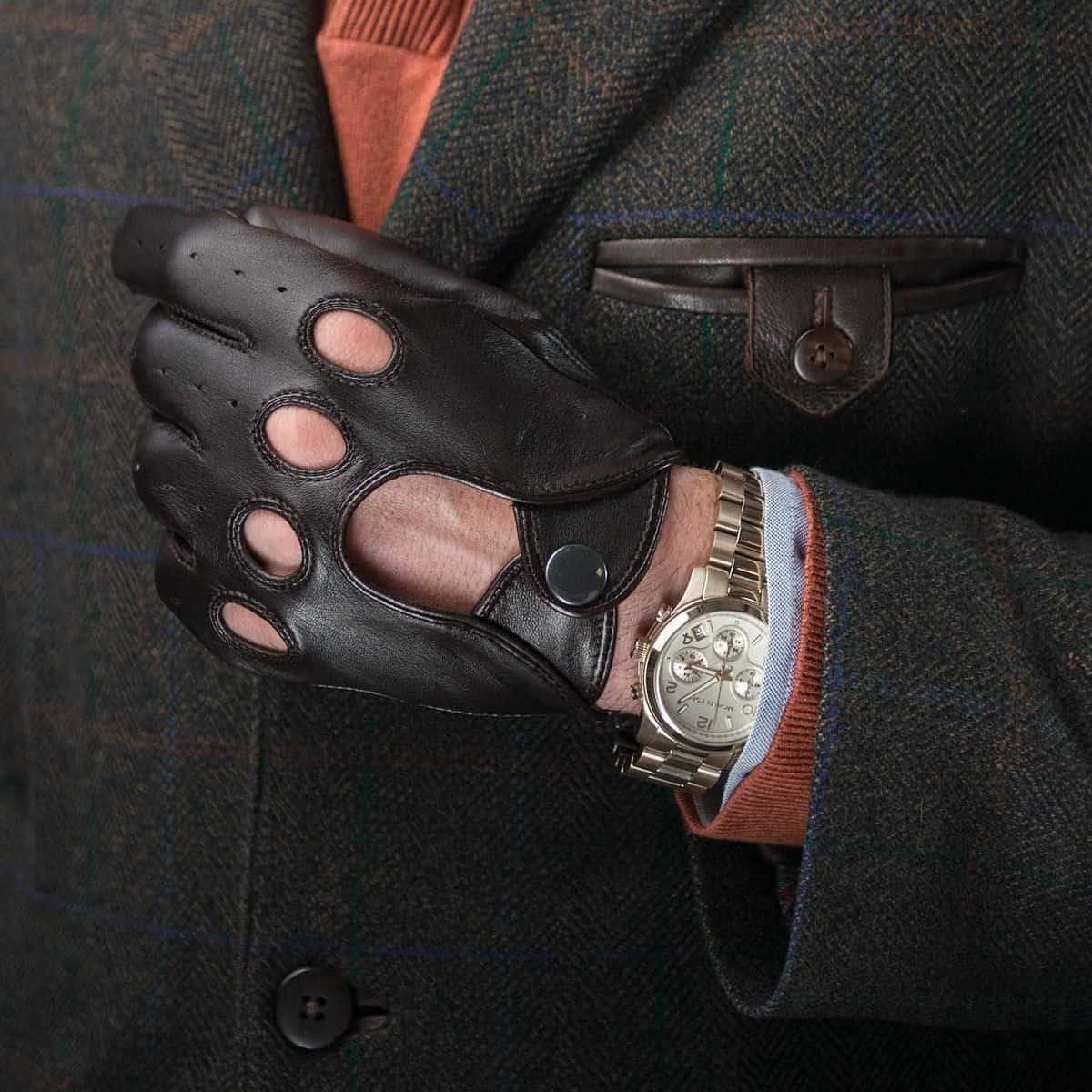 Pratt & Hart Men's Driving Gloves