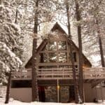 Stylish Modern A-Frame – Sunriver 1