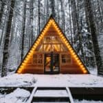 Tye Haus A-Frame Cabin – Skykomish 1