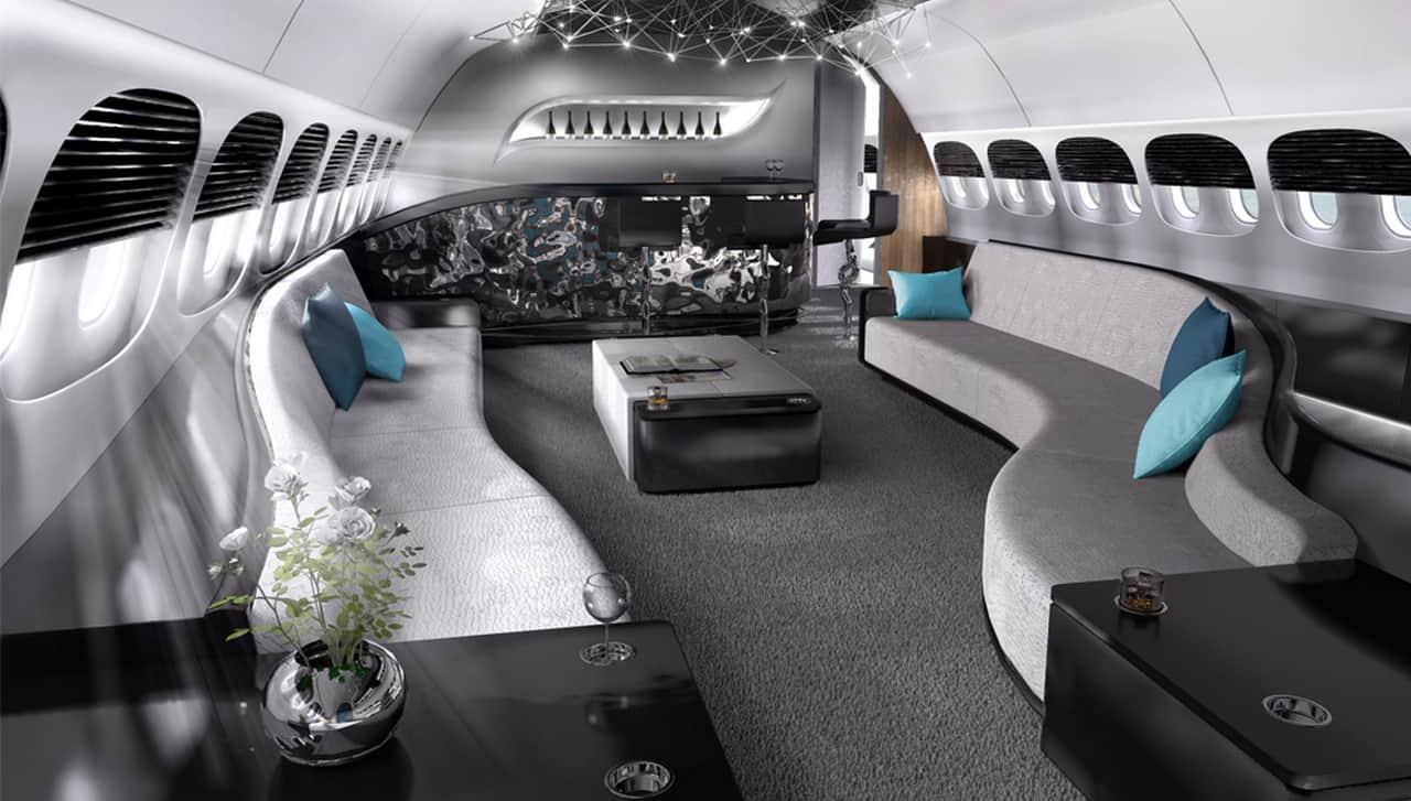 VIP Boeing 787 Dreamliner Interior