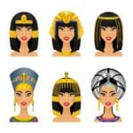 egypian women how they styled