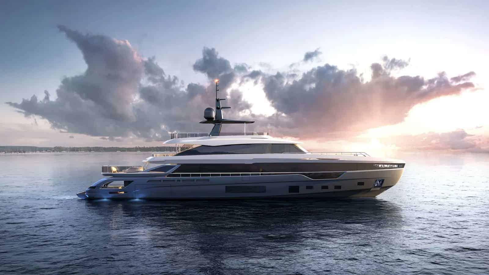 Azimut Grande Trideck yacht