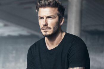 Beckham short hairstyle