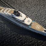 Fincantieri 113m Ganimede Yacht