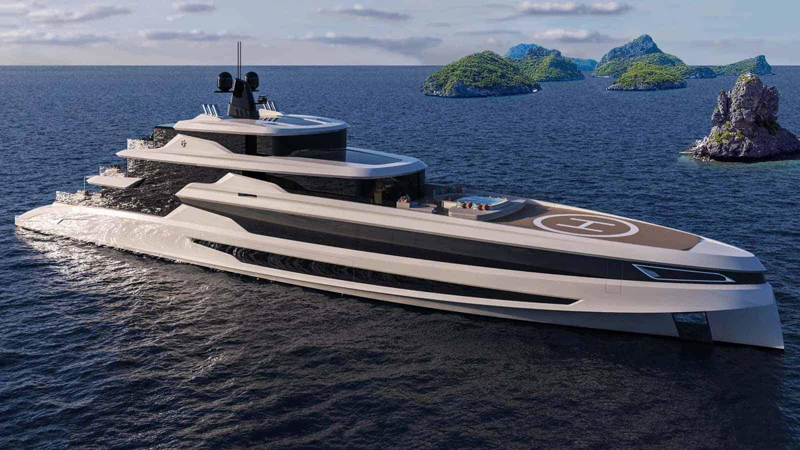 Fincantieri Concept Blanche Yacht