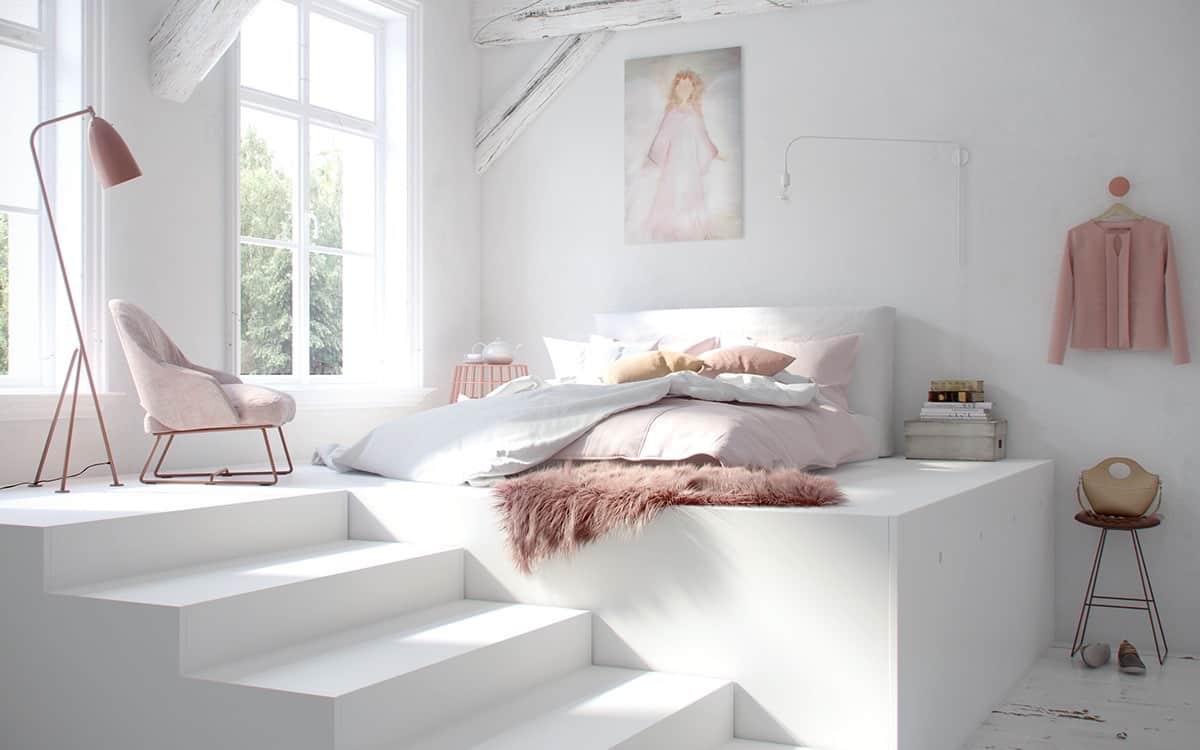 Fluffy Decor Bedroom