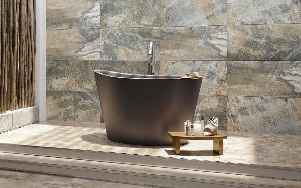 Freestanding Stone Bathtub