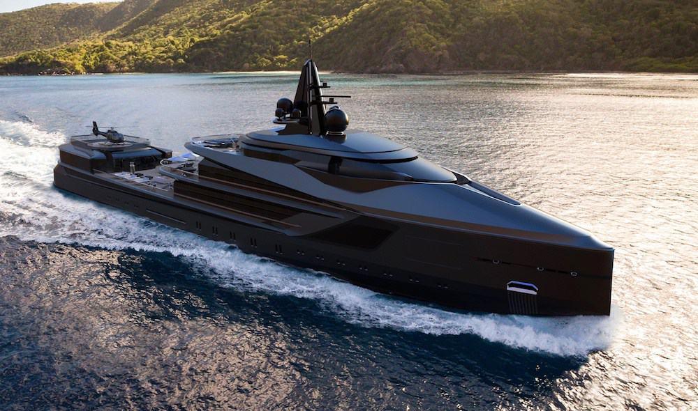 Oceanco Esquel Yacht Concept