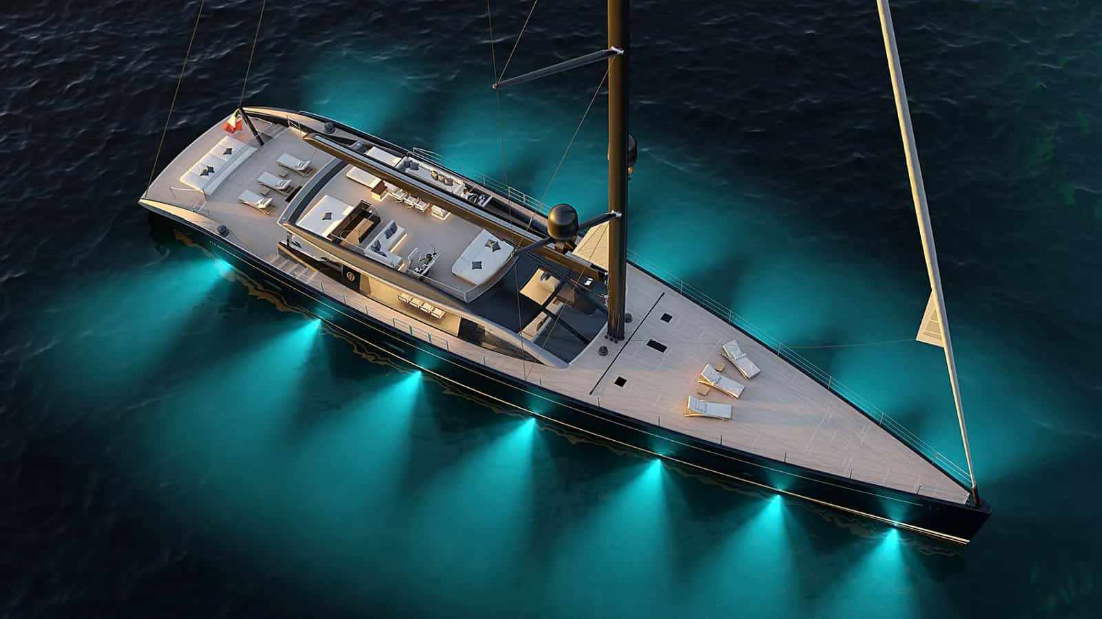 Perini Navi 47m E-volution Yacht
