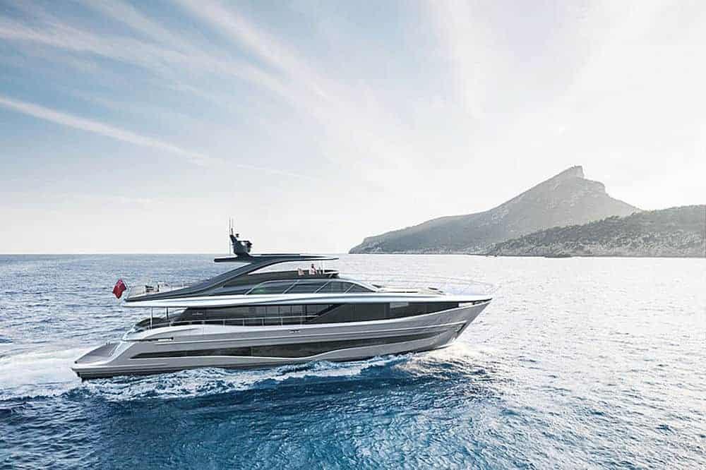 Princess Yachts Y95