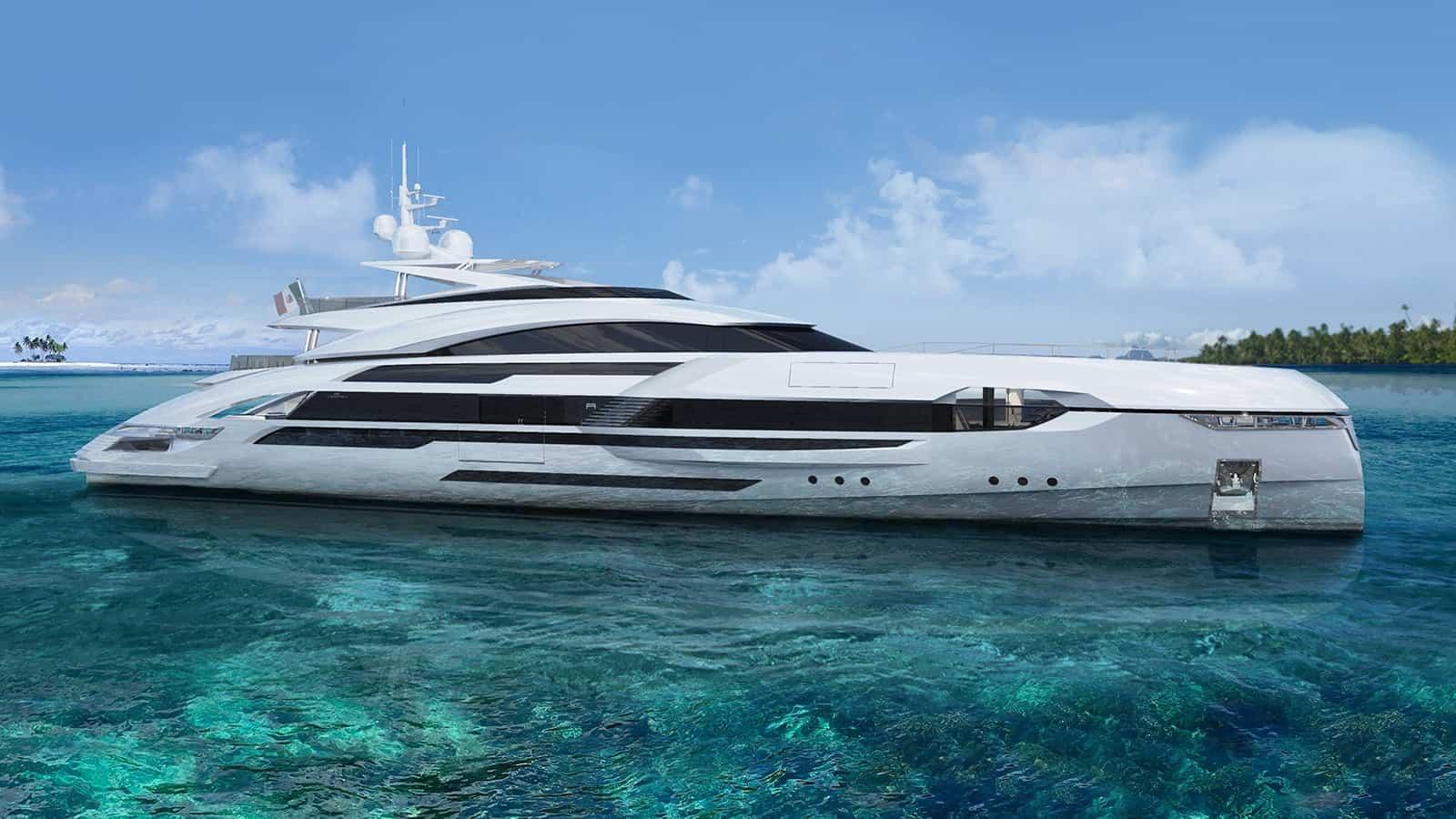Rossinavi Enrico Gobbi Alfa 50 Yacht Concept