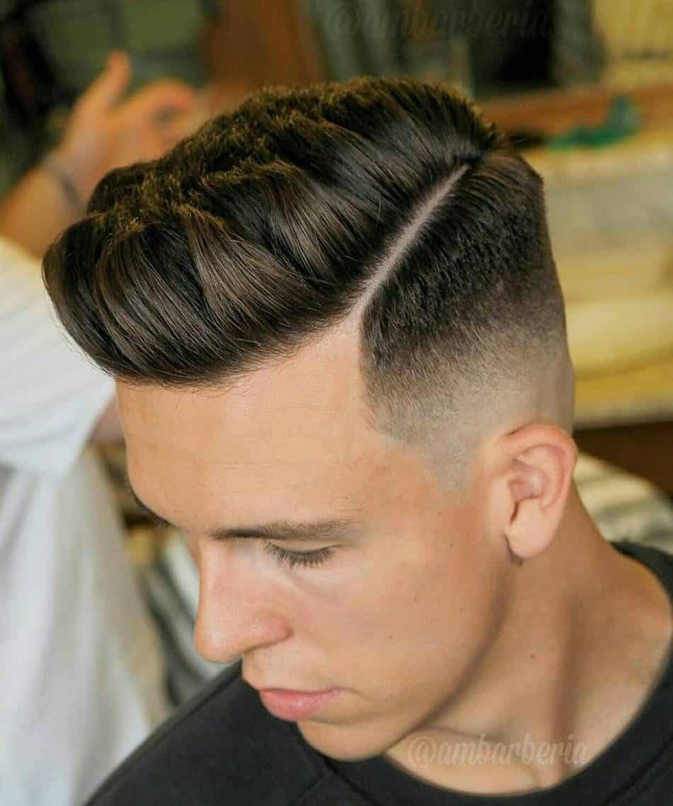 Side Part Fade