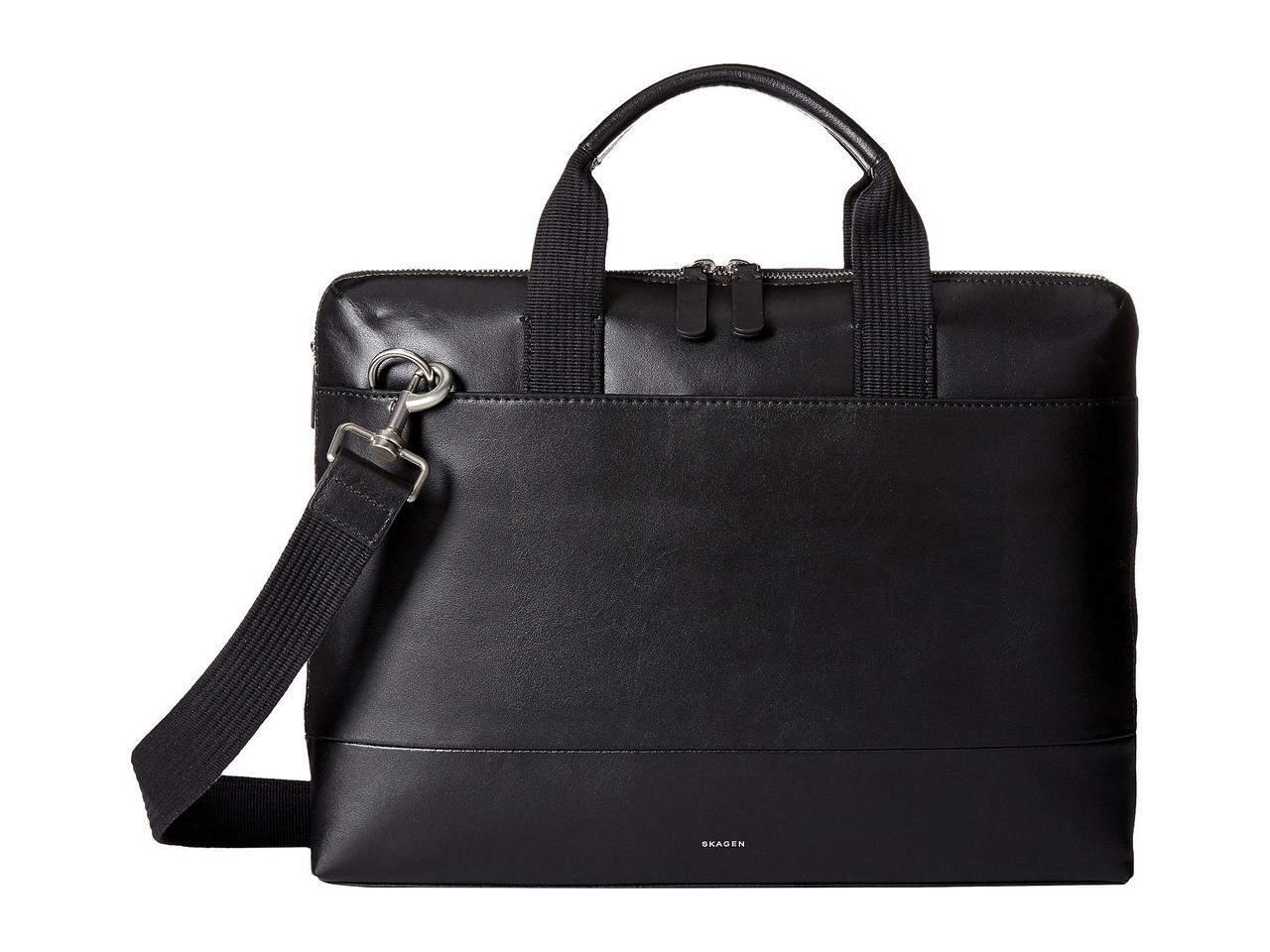 Skagen Peder Leather Briefcase