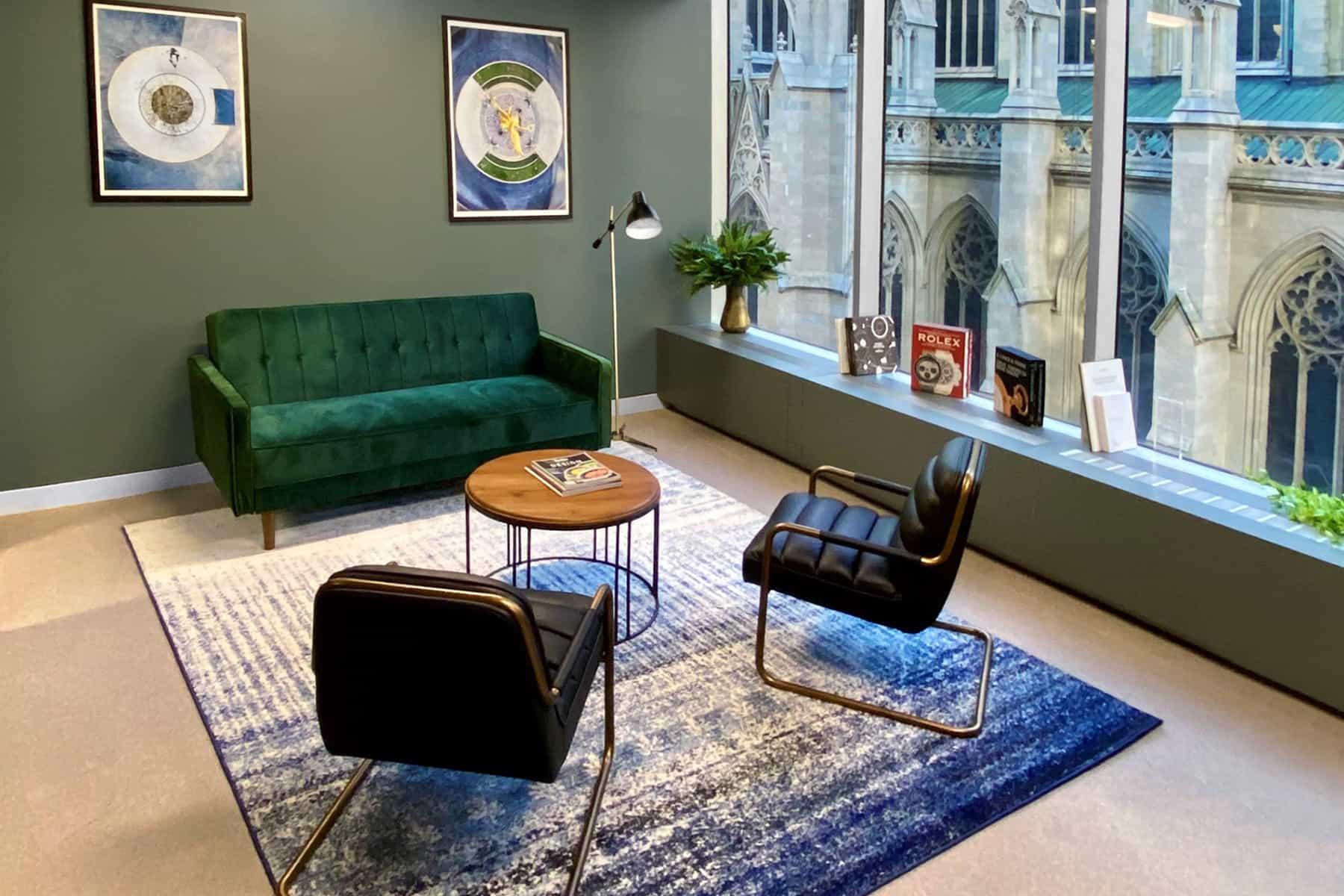 Watchfinder & Co. New York Showroom interior 2