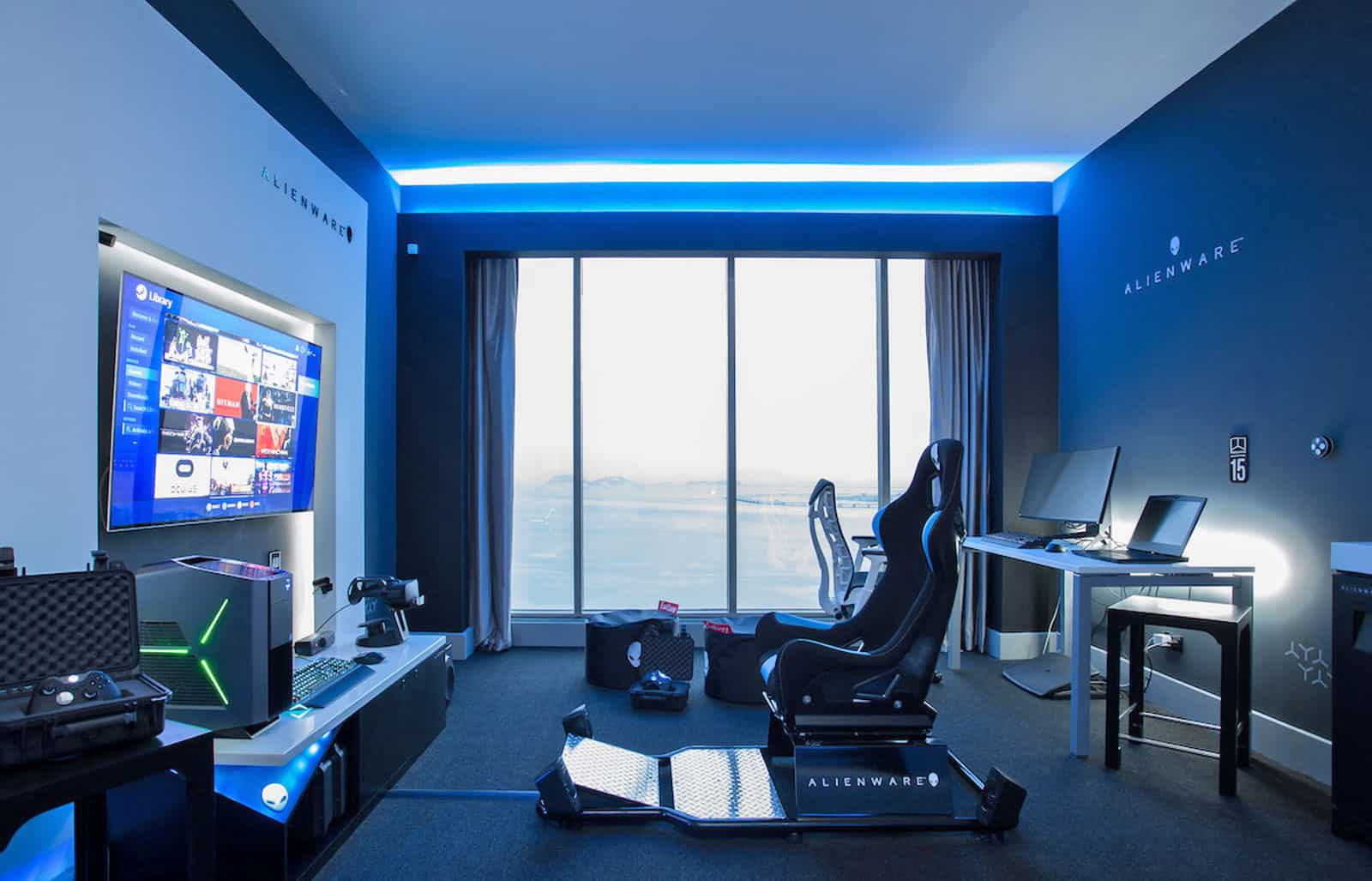 Alienware Gaming Room