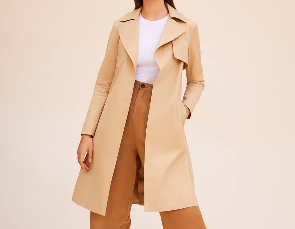 Cuyana Classic Trench coat