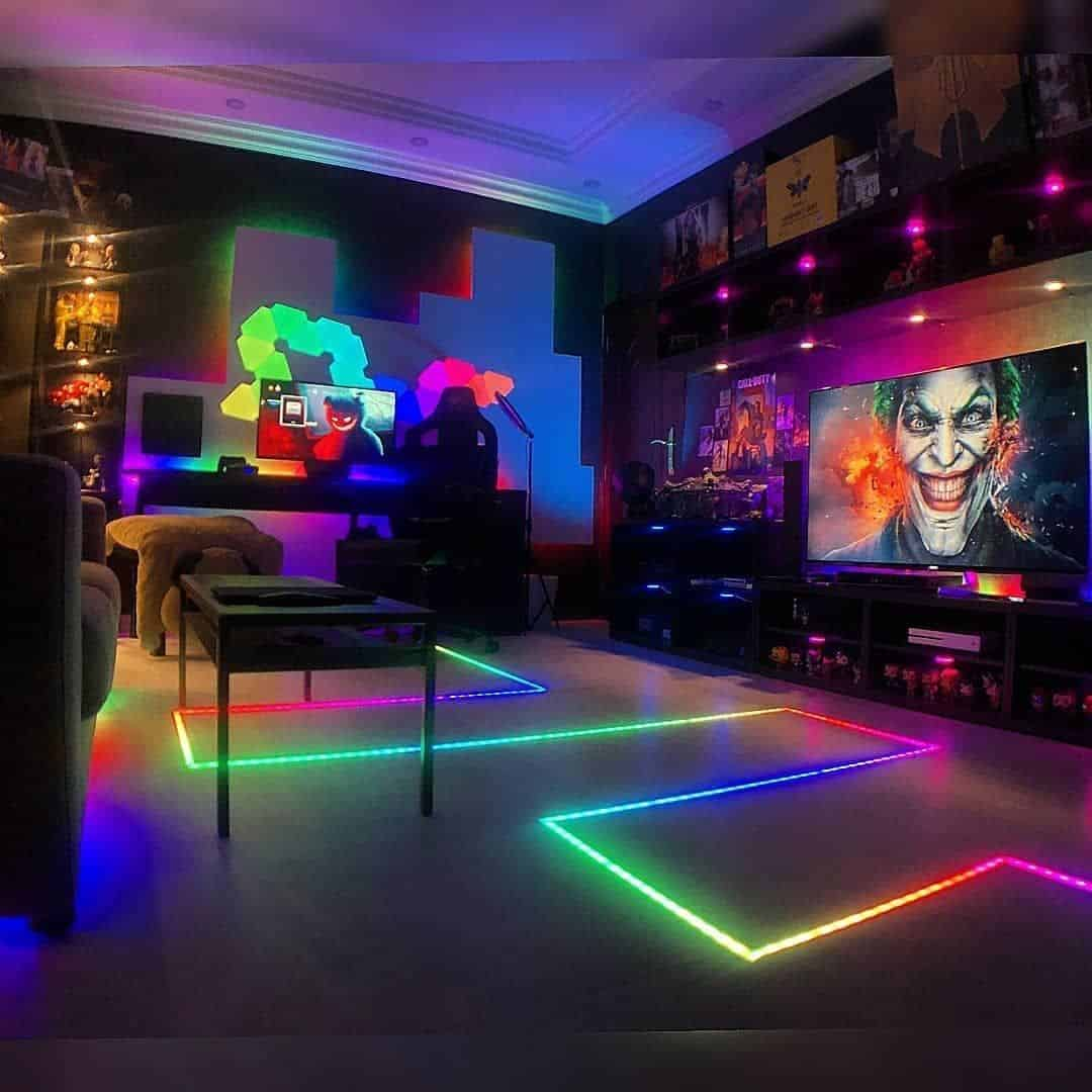 Gaming Room Flooring