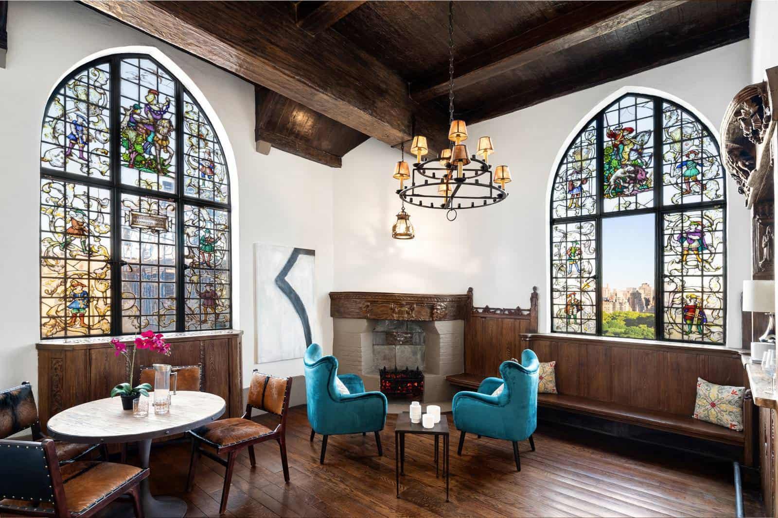 Georgio Armani's Manhattan Penthouse