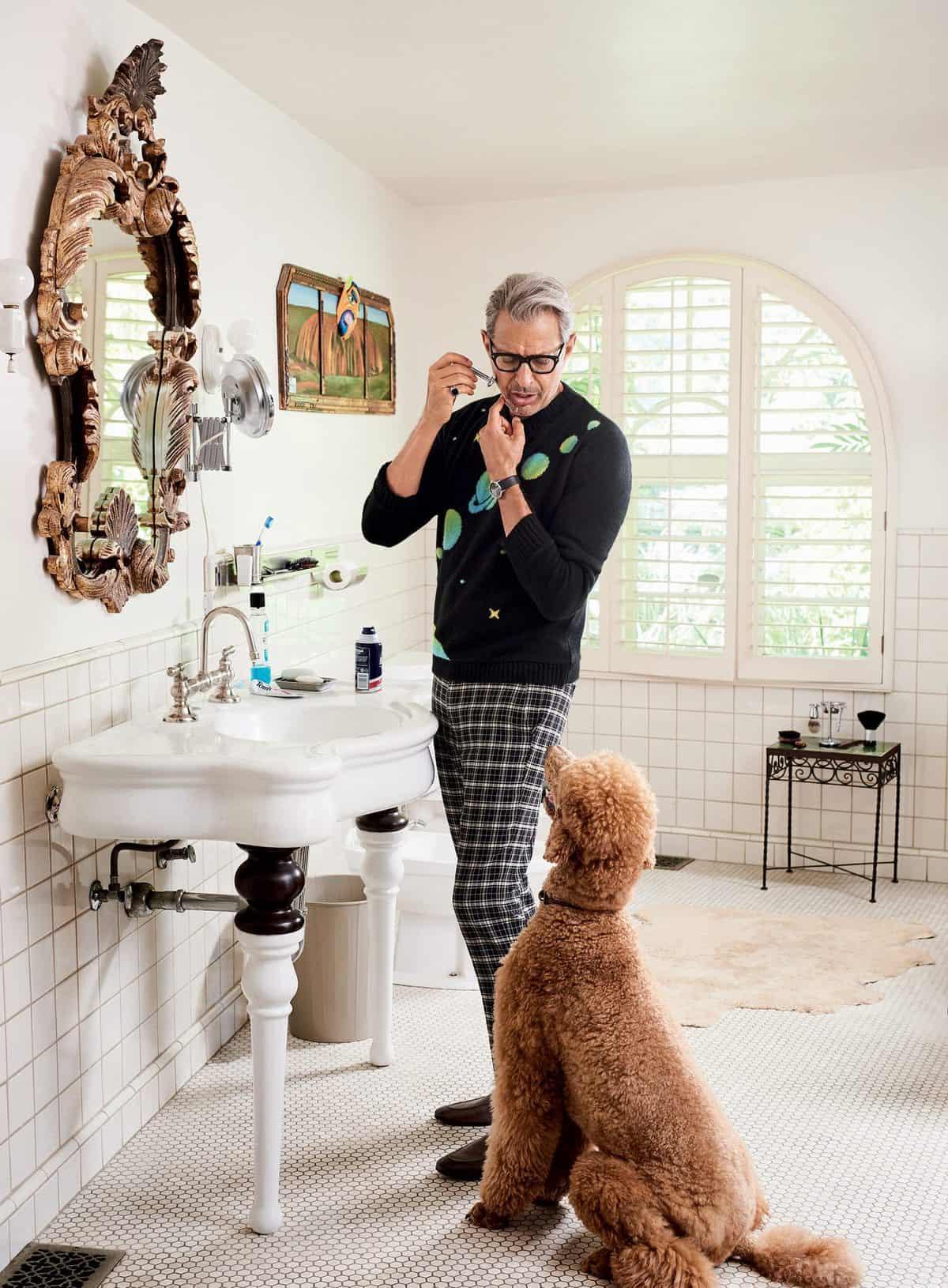 Jeff Goldblum GQ
