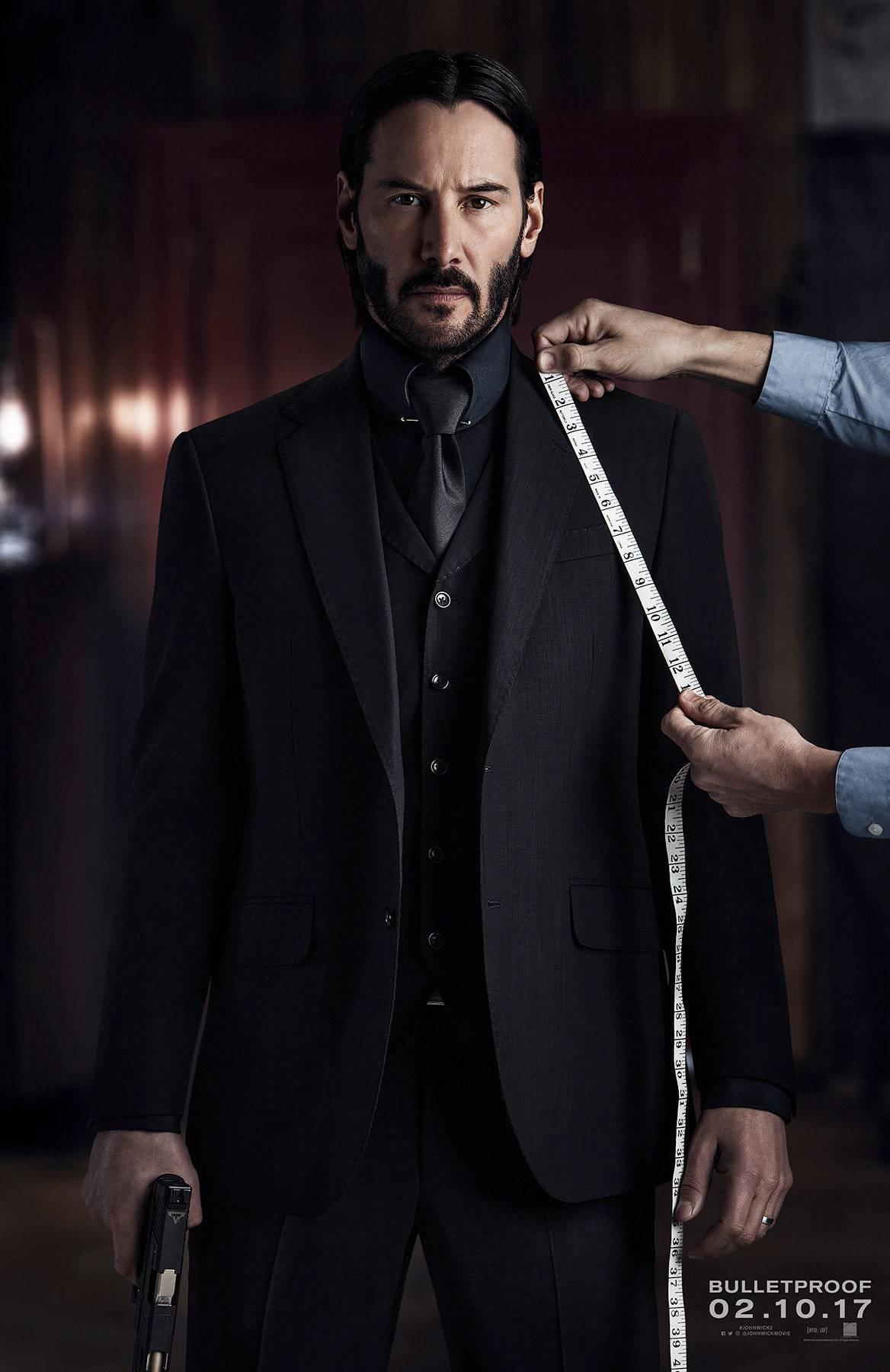 Keanu Reeves John Wick 2 Bulletproof