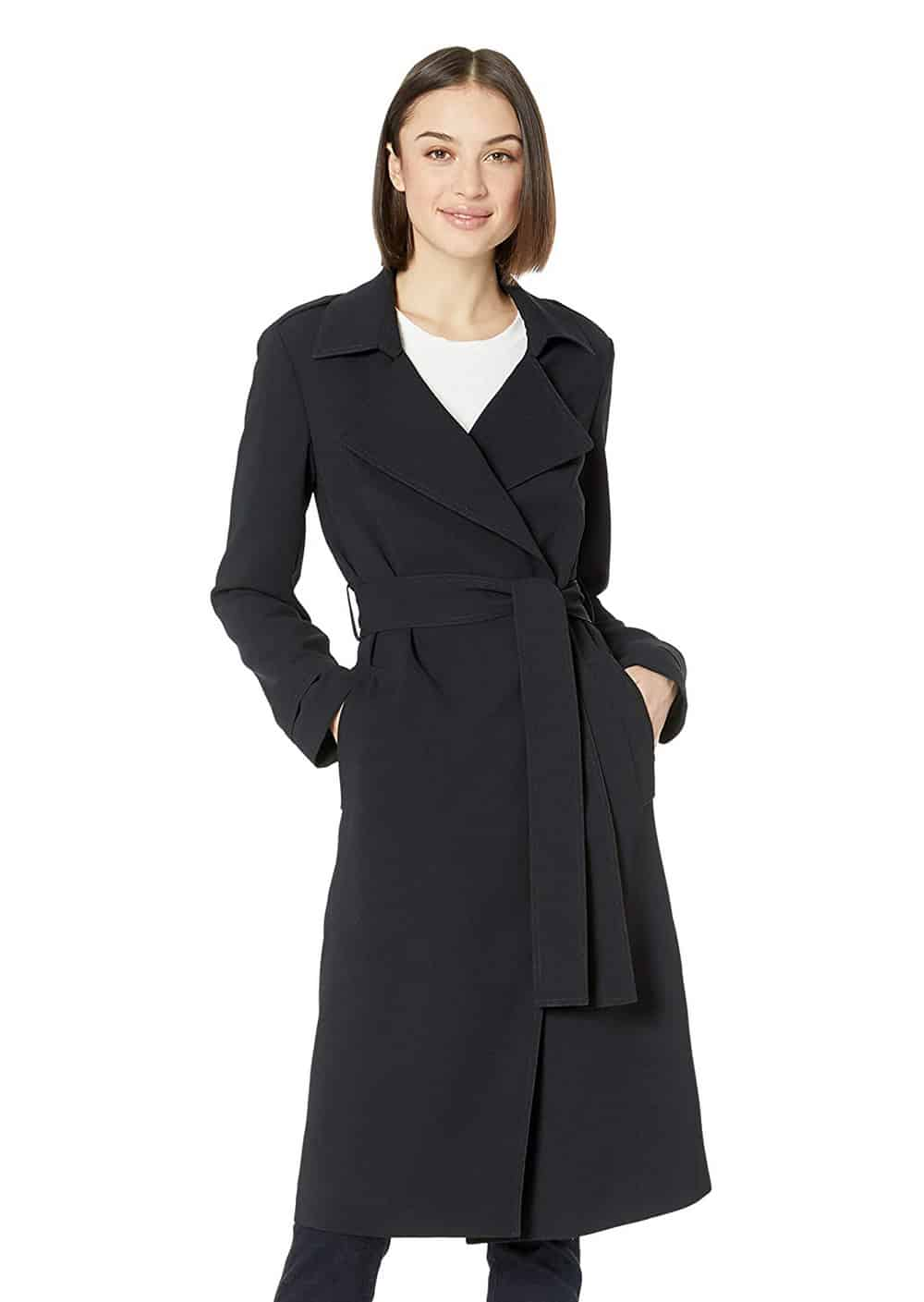 Lark-&-Ro-Women's-Light-Trench-Coat